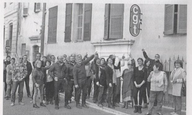 Non à l'expulsion de la CGT de Grasse de la bourse du travail!!