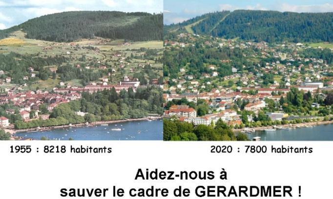 Pétition : Aidez-nous à sauver le cadre naturel de Gérardmer !