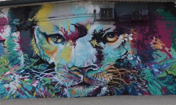 Pétition : Pour la sauvegarde de la fresque du lion à Grenoble