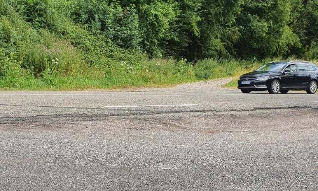 Pétition : Création d'un Passage pieton et panneaux signalétiques, RD603, route dangereuse