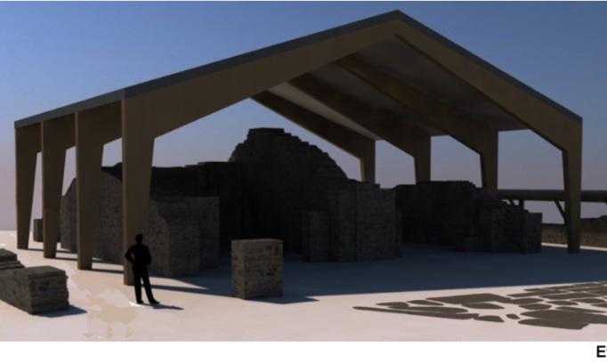 Pétition : Pour l'interruption du chantier de couverture du temple gallo- romain de Genainville et la concertation des partenaires sur la façon de préserver le site !