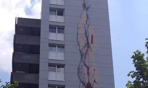 STOP aux fresques haineuses et racistes à Bruxelles