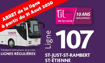 Maintien de la ligne 107 du TIL ou au moins de ces horaires et de ces arrêts suite à la fusion avec la ligne 120