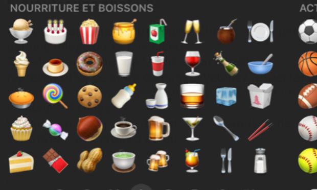 Ajouter un emotji «vin blanc» sur tout les smartphones