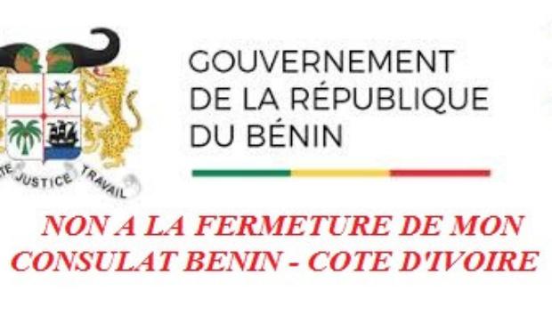 NON A LA FERMETURE DU CONSULATS DU BENIN EN COTE D'IVOIRE
