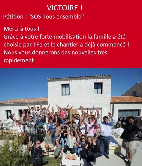 Victoire : SOS tous ensemble