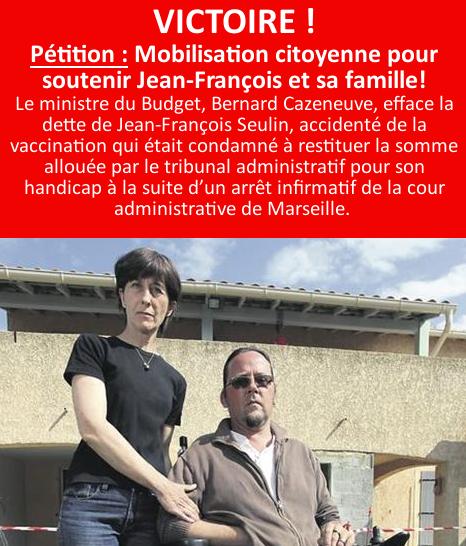 VICTOIRE : Mobilisation citoyenne pour soutenir Jean-François et sa famille
